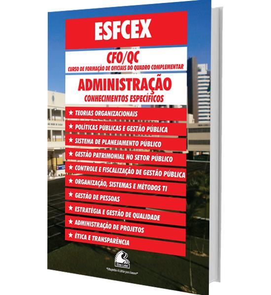 Apostila concurso ESFCEX administração