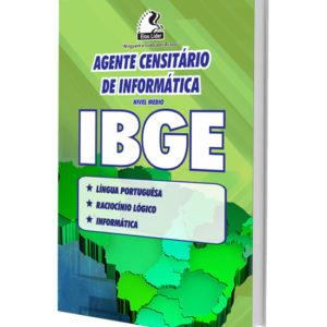 Apostila Concurso IBGE - Agente Censitário de Informática
